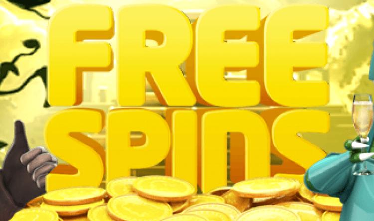 Free spins är mycket populärt bland casinospelarna