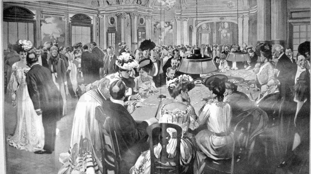 Casinon fanns redan när allt var svartvitt