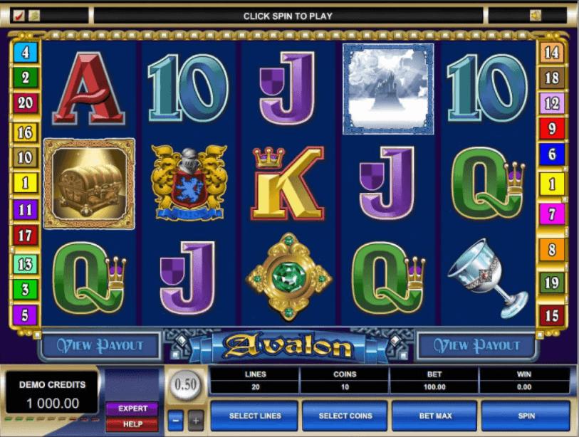 Avalon slot är en fin spelautomat med stora vinster