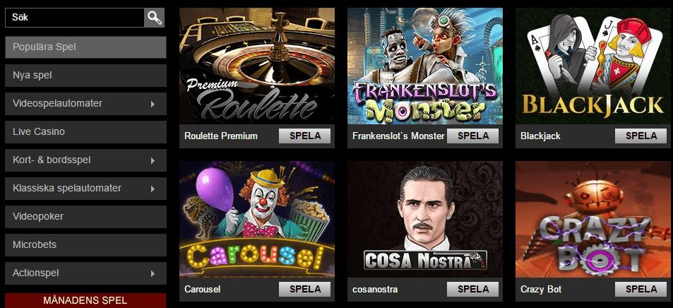 Casino Trimophe ger dig fina triumfer, bonusar och free spins